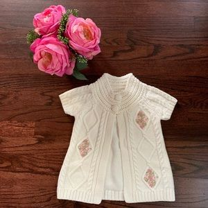Cynthia Rowley Ivory Cardigan sweater, 2T